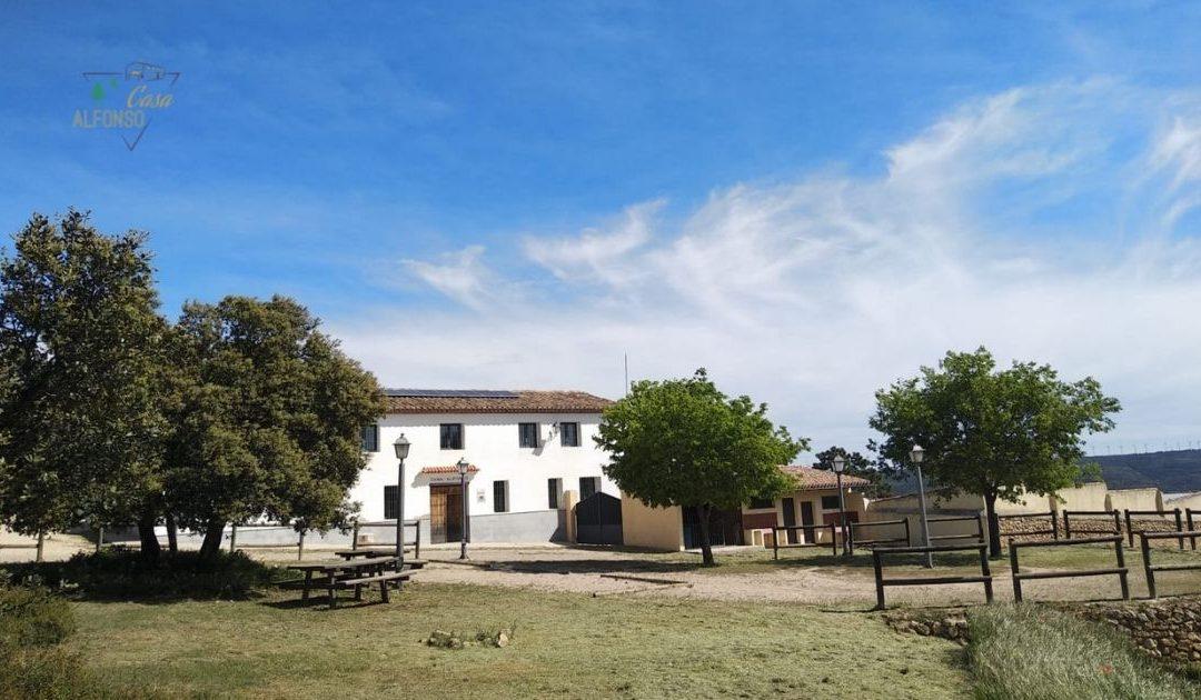 Una casa rural singular